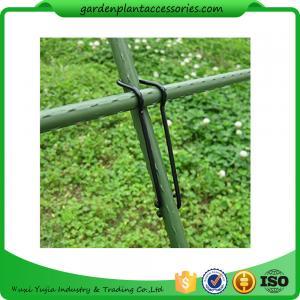 Black Garden Plant Accessories Wire  Buckle Gardening Cross Pillar Connecting Pieces Manufactures