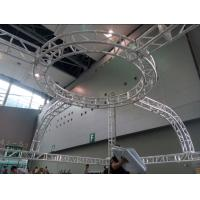 Aluminum Screw Circular Lighting Truss For Exhibition On Truss Top Manufactures