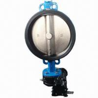 Rubber Line Butterfly Valve, Bonded with EPDM Liner Manufactures