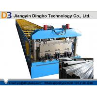Buy cheap Automatic Hydraulic Post Cutting Floor Deck Roll Forming Machine For Steel Coil from wholesalers