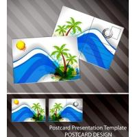 Souvenir scenery lenticular 3D printing postcard 3D flip picture post card price Manufactures