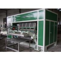 Full Automatic Pulp Moulding Machinery for Recycle Paper Egg Tray / Egg Box / Fruit Tray Production Line Manufactures