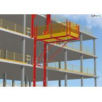 Red Aluminum Alloy Cantilever Loading Platform For Removing Material Manufactures