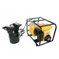 Engine Driven Hydraulic Pump Double Acting Hydraulic Pumps With Pressure Meter Manufactures