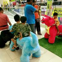 Hansel  electric entertainment animal scooter panda for shopping mall