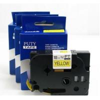 Buy cheap TZ Tapes 18mm Black on Yellow label tape PT-S641 printer ribbons from wholesalers