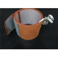 High Strength Flexible Silicone Heaters , Oil Drum Heater With Thermostat Manufactures