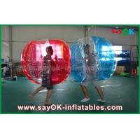 Popular Colorful Inflatable Soccer Bubble , Human Soccer Bubble Ball for Adult and Kids Manufactures