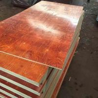 Waterproof Melamine Glue Red laminated Film faced plywood 2 time hot press Manufactures