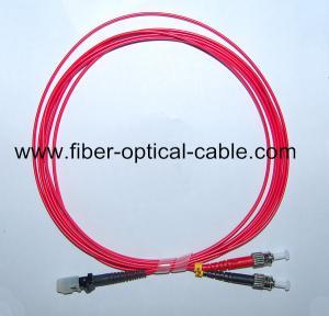MTRJ-ST Fiber Optic Patch Lead/Patch Cord Manufactures