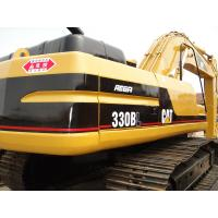 China CAT 330 Second Hand Excavators 750mm Shoe Size With 1.5m3 Bucket Capacity on sale