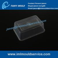 China precision disposable lunch containers mould, 750ml rectangular take away lunch boxes mould on sale