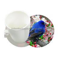 Durable 0.6mm PET/PP 3D Lenticular Coasters UV Offset CMYK Printing Manufactures