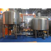 Stainless Steel 316 Turnkey Beer Brewing System Hand Or Automatic Control Manufactures