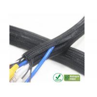Buy cheap Kink Resistance Self Wrapping Braided Sleeving Good Strength For Cable Protection from wholesalers
