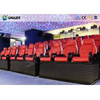 Entertainment Park 12D Cinema XD Theatre With 3 DOF Electric Chairs 180KG Manufactures