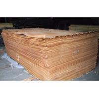 Yellow Rotary Cut Okoume Veneer For Chipboard , 0.2 mm - 0.6 mm Thickness Manufactures