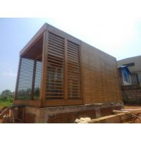 Composite bamboo house fabricated bamboo house Manufactures