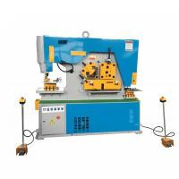 Wadley Hydraulic Ironworker Hole Punching Shearing Machine High Accuracy