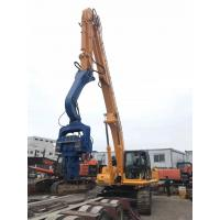 Low Vibration Hydraulic Pile Driving Machine Quick Speed Reliable Performance Manufactures