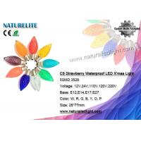 C9 Pine Cone LED Christmas Light Bulbs Waterproof Fireproof CE / RoHS Certificate Manufactures