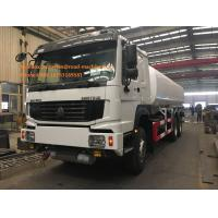 SINOTRUK HOWO Gas Tanker Truck 16-20CBM 6X4 LHD Euro2 290HP With Pipe Pump Manufactures