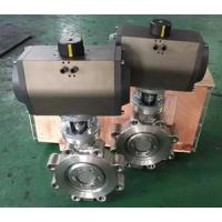 Triple Offset Pneumatic Actuator 304 Material Wafer Connection Butterfly Valve,Triple offset Lug Type Butterfly Valve Manufactures
