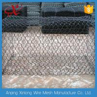 Customized Gabion Wire Mesh Wire Cages For Rock Retaining Walls 2.0~3.7mm Manufactures