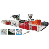 Buy cheap diameters 16-63mm PVC Double Pipe Making Machine-GF series plastic pipe production line from wholesalers