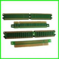 China 2 layer gold finger PCB / flash memory pcb board with FR4 on sale