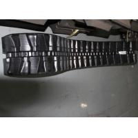 Flexible Excavator Rubber Tracks 82 Links 4510mm Overall Length For Hitachi Manufactures