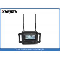 Military Outdoor 2.4 Ghz Video Receiver / Handheld High Definition Wireless Digital Receiver Manufactures