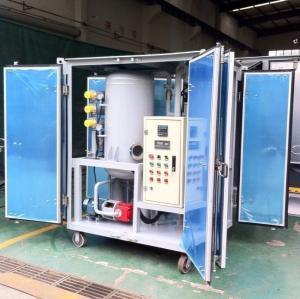 ZJA Series High Vacuum Oil Purifier Machine, Insulation Oil Purifier Manufactures