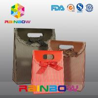 Colorful Printed Paper Bag For Gift / Candy , Customized Paper Bag With Handle Manufactures