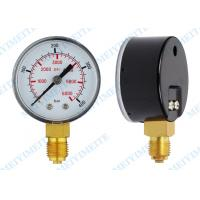 Heavy duty tire pressure gauge , Car Truck Tyre Pressure Gauge plastic snap in type Manufactures