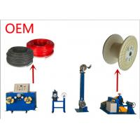 Winding Wire Bobbin Cable Take Up Machine 1 - 20mm Wire Range 500 Kg Weight