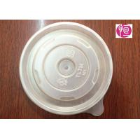 12oz PP Material 100mm Round Soup Lid BPA Free FDA Certificated Manufactures