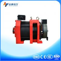 WTD2-P 250 disc brake no noise roomless traction machine with elevator guide rail Manufactures
