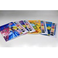 China Custom Children Coloring Book Printing , Colouring Books To Print With Watercolor on sale