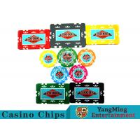 Casino Chip Dedicated Box , Aluminum Poker Chips Set 12g - 760pcs Manufactures