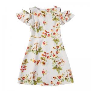 China 89D18028 2018 Summer New Elegant Fashion Floral Dress on sale