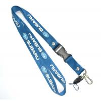 China 1 Side Multicolor Nylon Cell Phone Neck Lanyard Eco Friendly 20 X 800 + 100 mm on sale