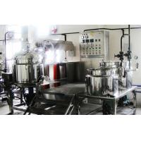 Stainless Steel 2000L Button Board Control Full Automatic Vacuum Emulsifying Equipment Manufactures