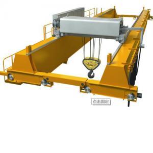 250 Ton Double Girder Overhead Crane / Rail Double Beam Crane Emergency Stop Manufactures