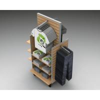 Practical Wooden Clothing Display Rack For Clothing Shop / Market Manufactures