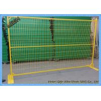 Portable Aluminum Fencing : Portable temporary metal fence panels pvc coated steel