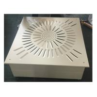 Ceiling And Wall Laminar Flow Diffuser HEPA Filter Box For Clean Room Manufactures