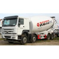 China Low Noise Concrete Construction Equipment Left / Right Hand Drive Mixer Truck Howo on sale