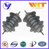 Electric Power Zinc Oxide Polymer Surge Arrester Over Voltage Protection ISO9001 Manufactures