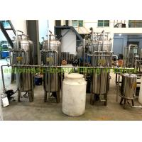 Stainless Steel 304 Material Ro Water Treatment System / Water Purification Equipment Manufactures